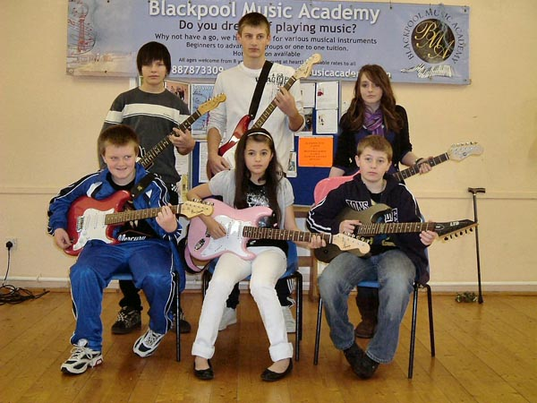 Blackpool Music School new term dates