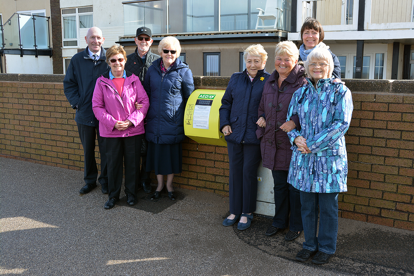 Public Lifesaving Equipment on Rossall Beach