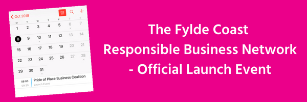 Register for the launch of the Fylde Coast Responsible Business Network