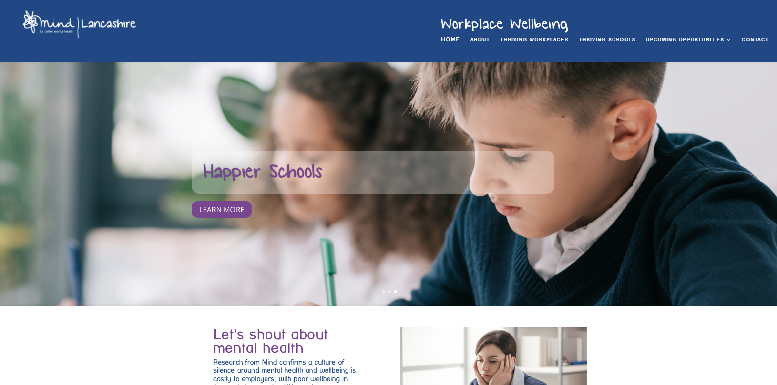 Lancashire Mind launches new website