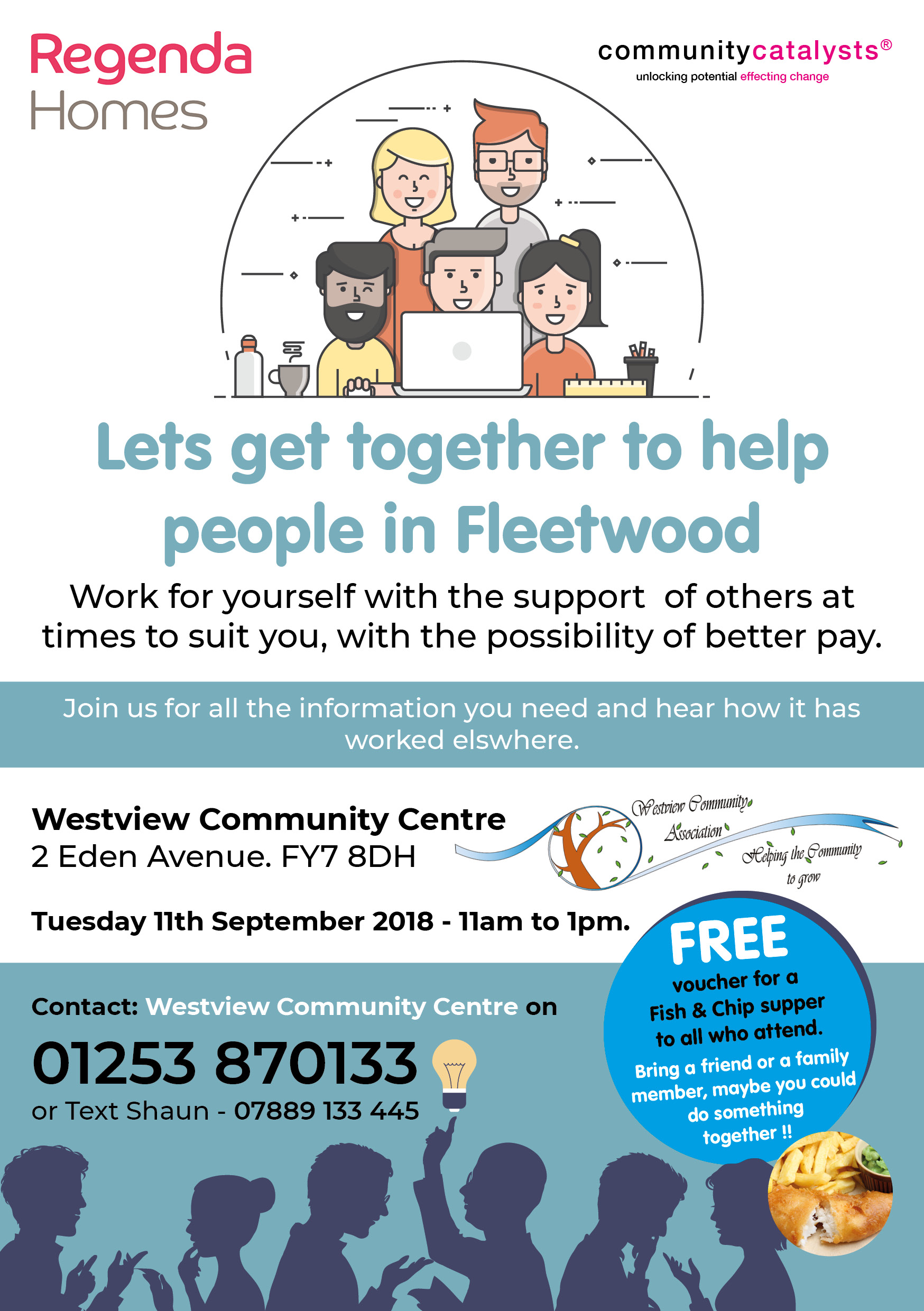 Lets get together to help people in Fleetwood