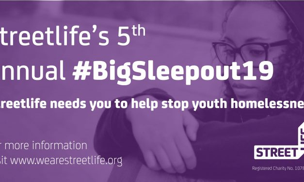 Streetlife's BigSleepout19 is here
