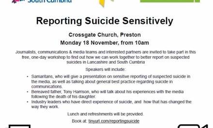 Reporting Suicide Sensitively Event