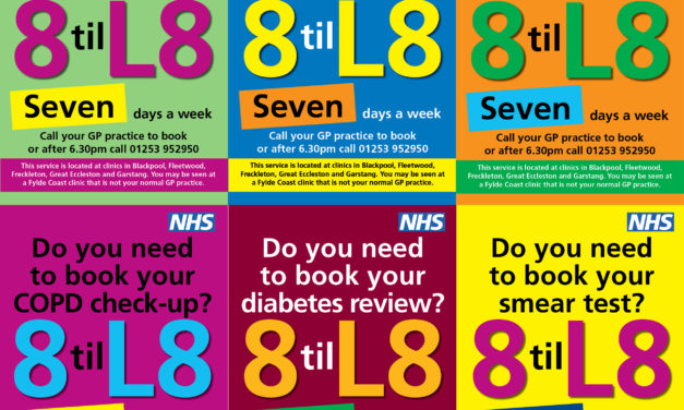 '8 til L8' campaign launched to raise awareness of evening and weekend appointments