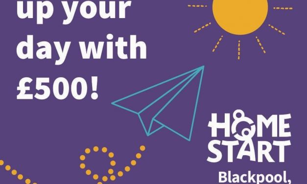 Brighten up your day – Win £500 – Home Start