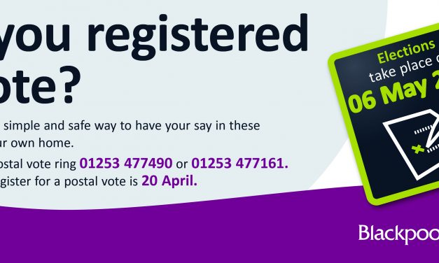Are you registered to Vote? – May Elections 2021