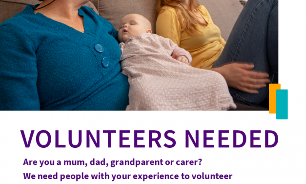 Volunteers for Home Start Blackpool, Fylde and Wyre