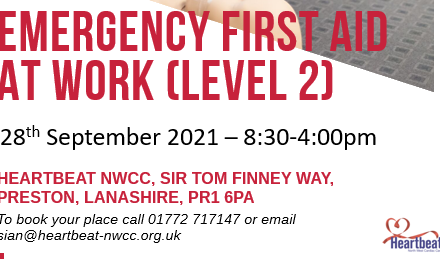 Enquire Today – Emergency First Aid Course : 28th September 2021