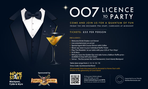 – 007 Licence to Party – Friday the 3rd of December 2021,