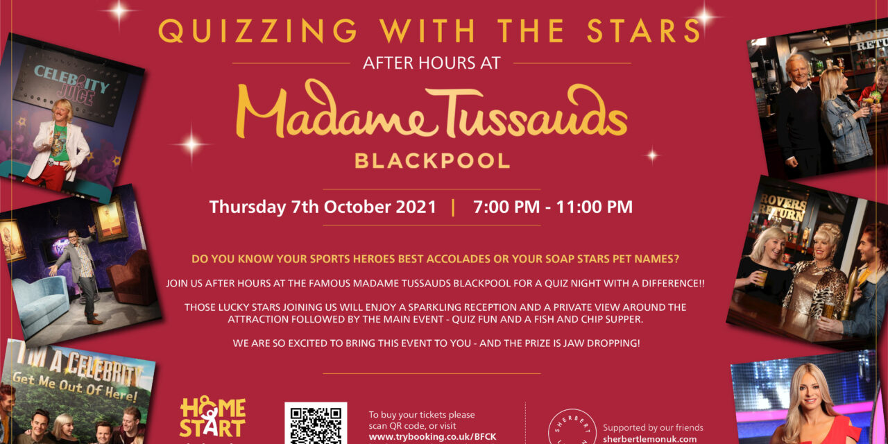 Quizzing with the stars Event 7th October 2021 – Home Start